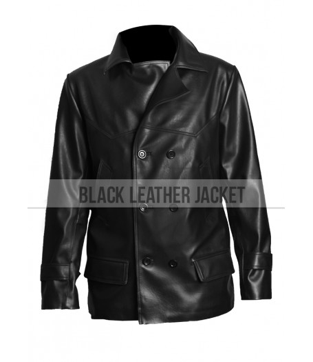 Mickey Rourke Coat | Sin City A Dame to Kill For Leather Jacket
