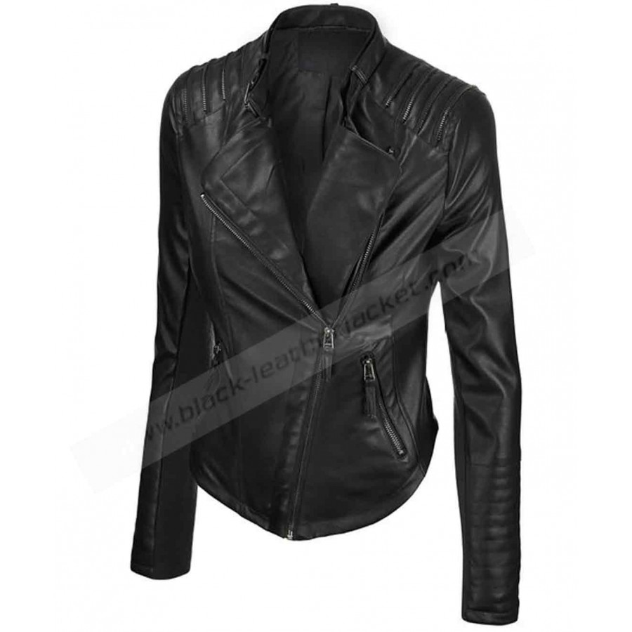 Best Faux Leather Jackets Blank Nyc Black Vegan Leather Sleeved