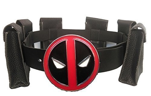 stunning deadpool waist belt