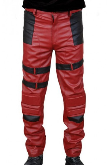 deadpool leather pants