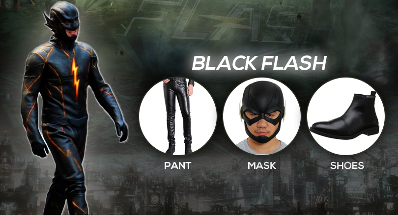 black flash costumes & Flash Costumes from Television Series