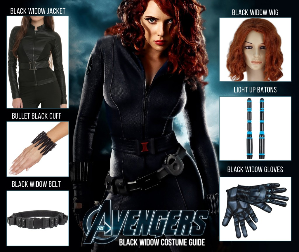 avengers age of ultron black widow costume guide