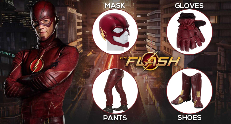 Flash Costumes From Television Series