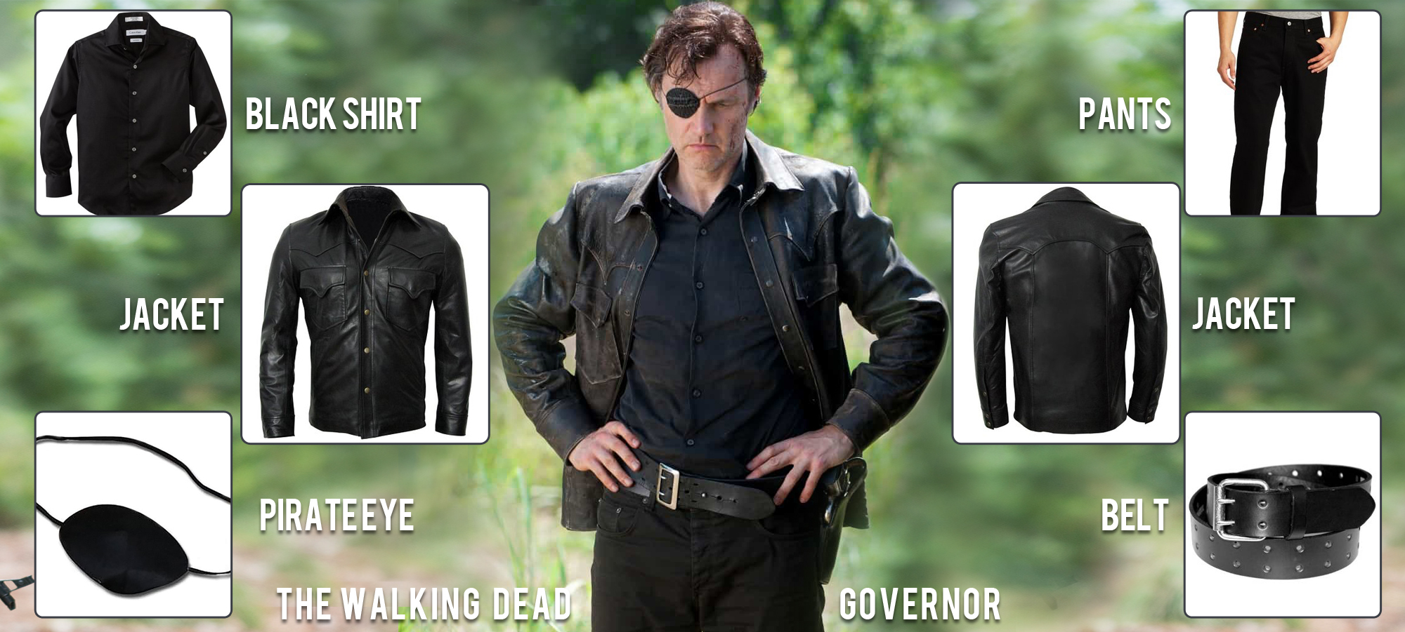 David Morrissey Governor Costume