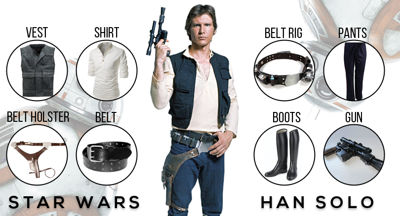 han solo new hope costume