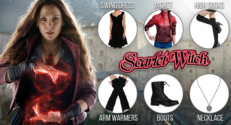 Avengers Age Of Ultron Scarlet Witch Costume Guide