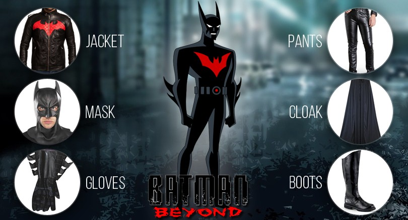 Batman Beyond perfect costume guide & Batman Beyond costume with a Perfect Adult Guide