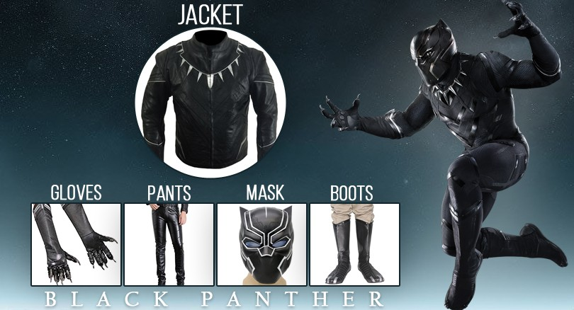 Get the Best Persona for Yourself with DIY Black Panther Costume Guide