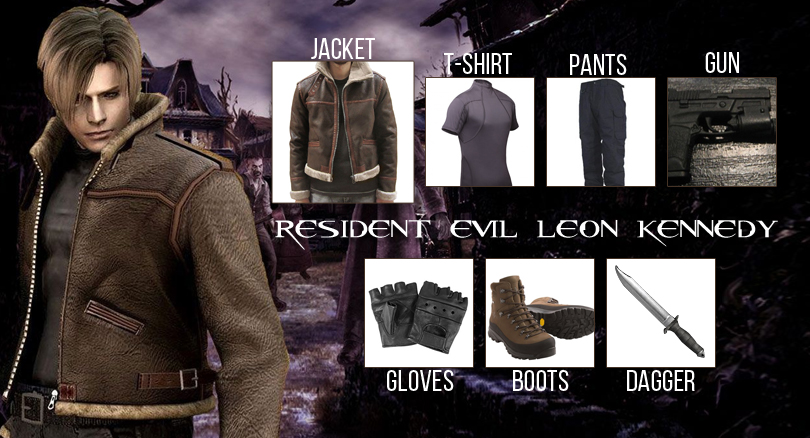 Leon Kennedy Costume Get Ready And Fight Your Demons Inside
