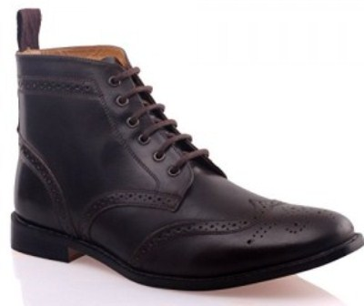 Smart Leather Boots
