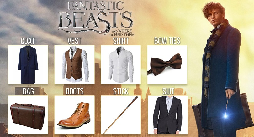 Get a Fantastic Appearance with Newt Scamander Fantastic Beasts Costume Guide  sc 1 st  Black Leather Jackets & Fantastic Beasts Costume: Get ready to dazzle with killer style