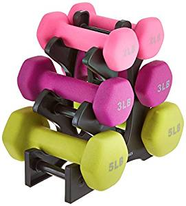 dumbbell set for mom