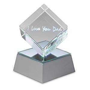 love lighted cube for dad
