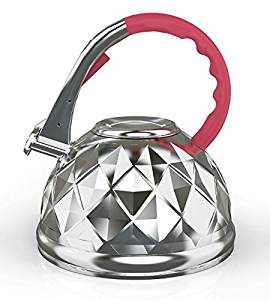 heat resistant whistling kettle