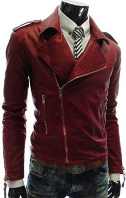 faux-leather-red-jacket