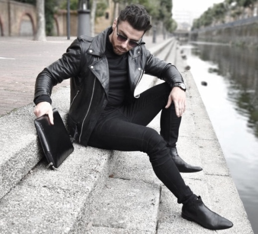 black-jeans-with-black-leather-jacket
