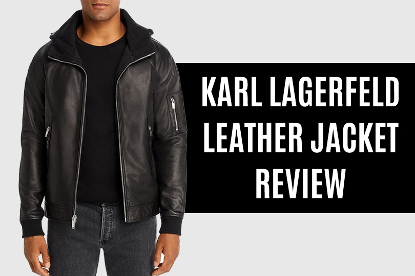 Karl Lagerfeld Leather Jacket Review
