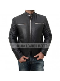 Aaron Taylor Johnson Leather Godzilla Jacket