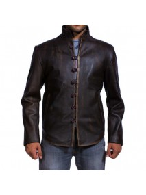 Leonardo Da Vinci Leather Jacket