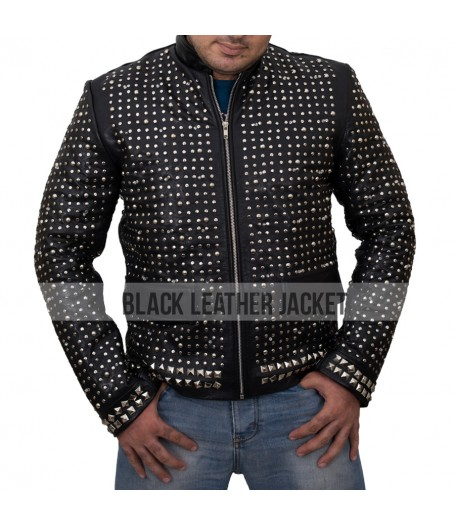 WWE Chris Jericho Sparkle Light Up Leather Jacket