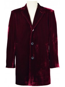 Peter Capaldi Doctor Who Twelfth Doctor Maroon Coat