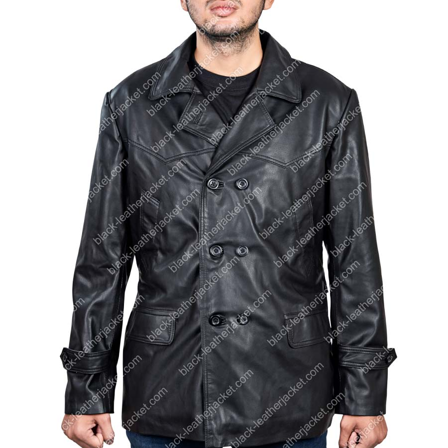 Ninth Doctor Leather Jacket | 9th Doctor Jacket