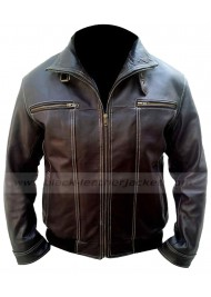 A Good Day To Die Hard 5 Bruce Willis Leather Jacket