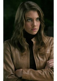 Abby Supernatural Bela Talbot Leather Jacket
