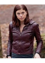 Adrianne Palicki Red Dawn Leather Jacket