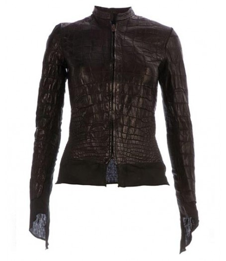 Affamee Alligator Leather Jacket