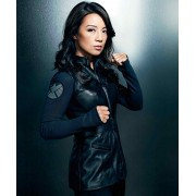 Agents Of Shield Melinda May Sleeveless Leather Vest