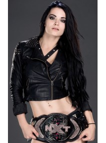 Diva Paige AKA Britani Knight Black Leather Jacket