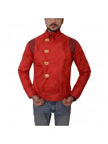Akira Pill Kaneda Capsule Red Leather Jacket