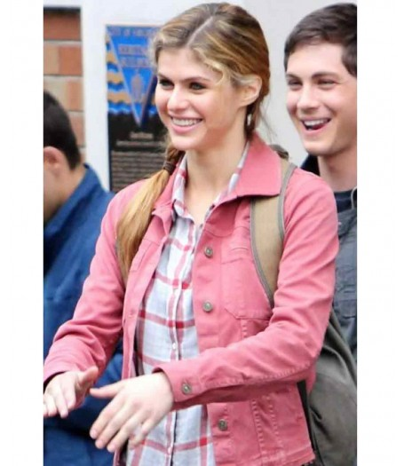 Alexandra Daddario Sea of Monsters Percy Jackson Jacket