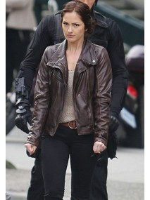 Almost Human Minka Kelly Leather Jacket