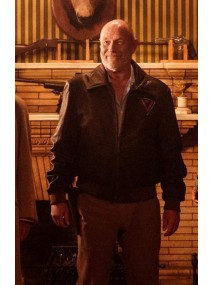 Corbin Bernsen American Gods Vulcan Leather Jacket