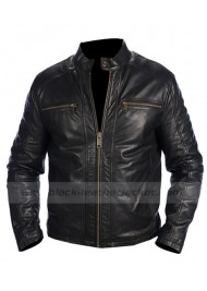 Andrew Marc Black Leather Jacket
