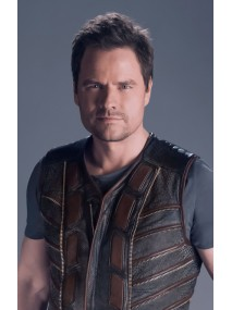 Anthony Lemke Dark Matter Leather Vest