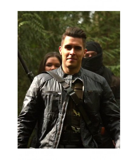 Arrow Adrian Chase Leather Jacket
