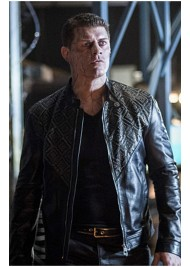 Cody Rhodes Arrow A Matter of Trust Leather Jacket