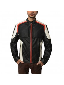 Mr Terrific Arrow Fair Play Leather Jacket
