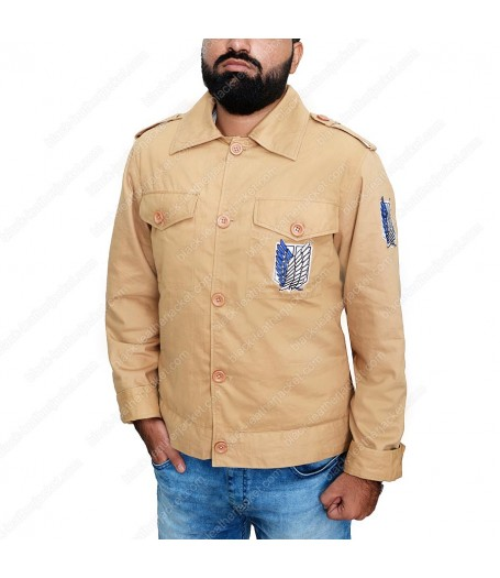 Attack on Titan Scouting Legion Jacket Male