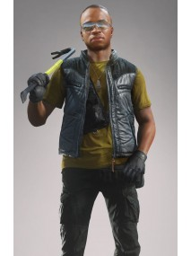 Marcus Boomer Battlefield Leather Vest