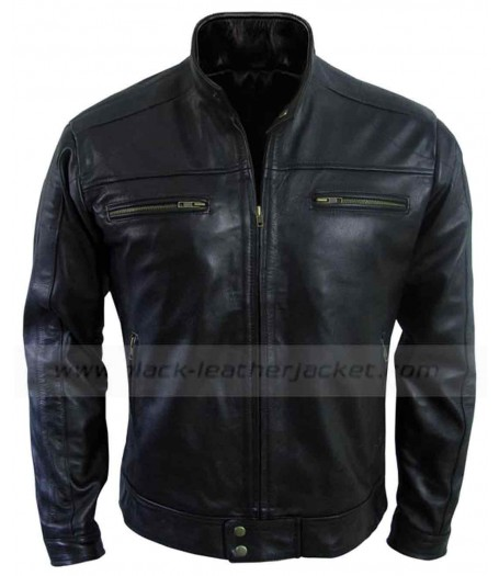 Being Human Aidan Black Leather Jacket