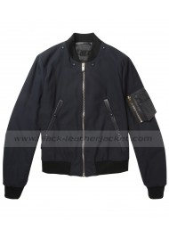 Ben Barber Ride Along Kevin Hart Bomber Black Jacket