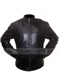 Billy Costigan Departed Leonardo Dicaprio Leather Jacket