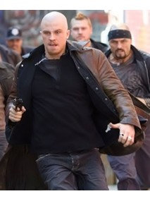 Billy Darley Garrett Hedlund Death Sentence Leather Jacket