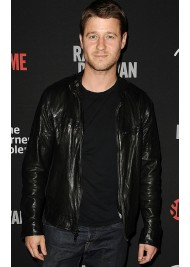 Ben Mckenzie Black Leather Jacket
