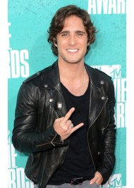 Diego Boneta Black Leather Jacket