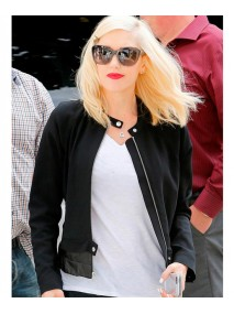 Gwen Stefani Black Jacket